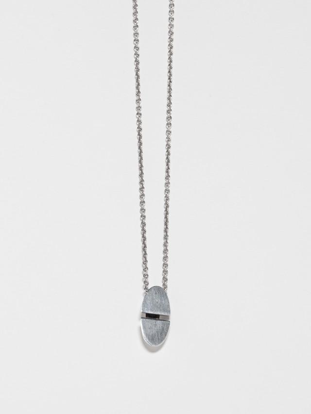 Chaine d'Ancre Initiale Necklace / Hermès