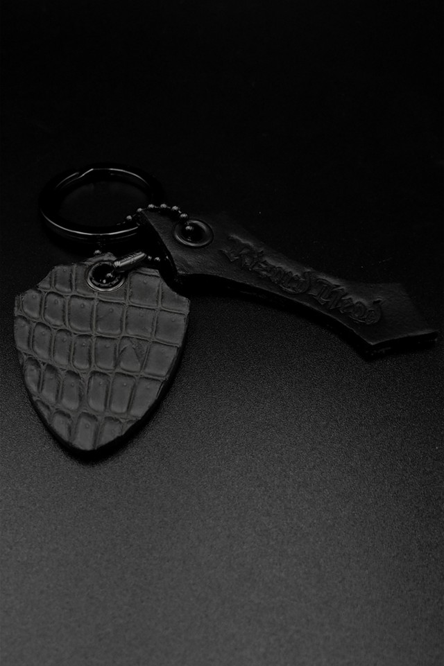 Item No.0324:Key ring/Crocodile/Matt Gray