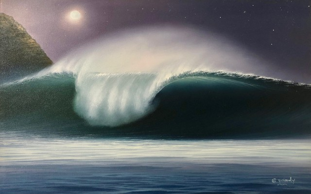 Dreamland Wave Art M10