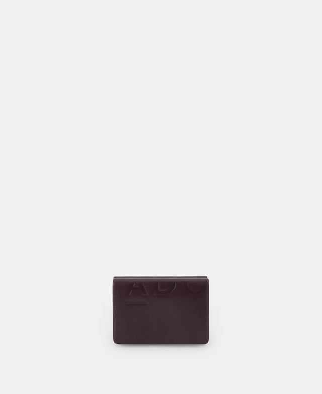 SMALL WALLET IN GRAINED LEATHER [231531596111]