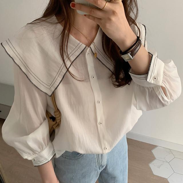 ルーズトップシャツ1714