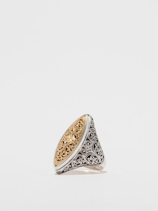 Mediterranean Marquise Shape Ring / Gerochristo