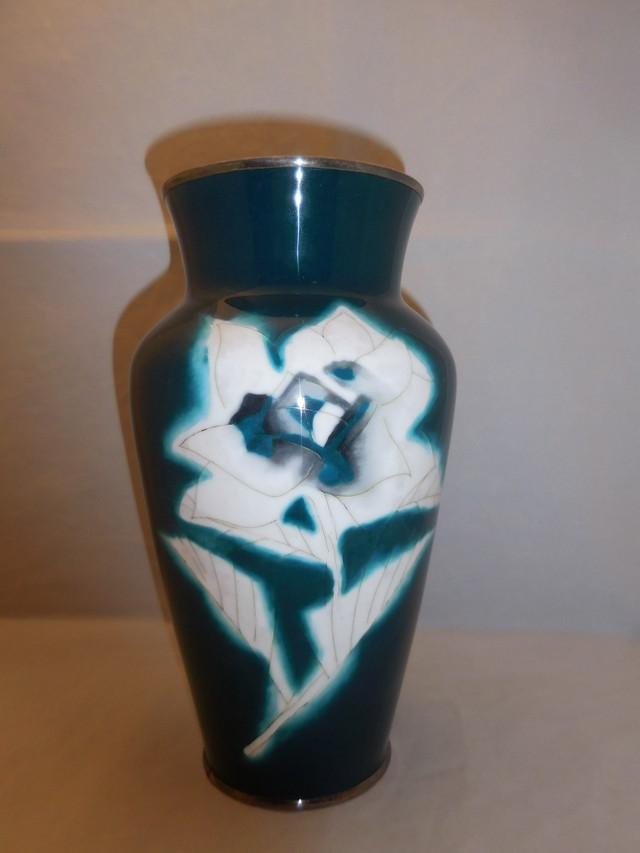 薄端花器(富士山 松) multi-metal vase(Mt Fuji ,pine)