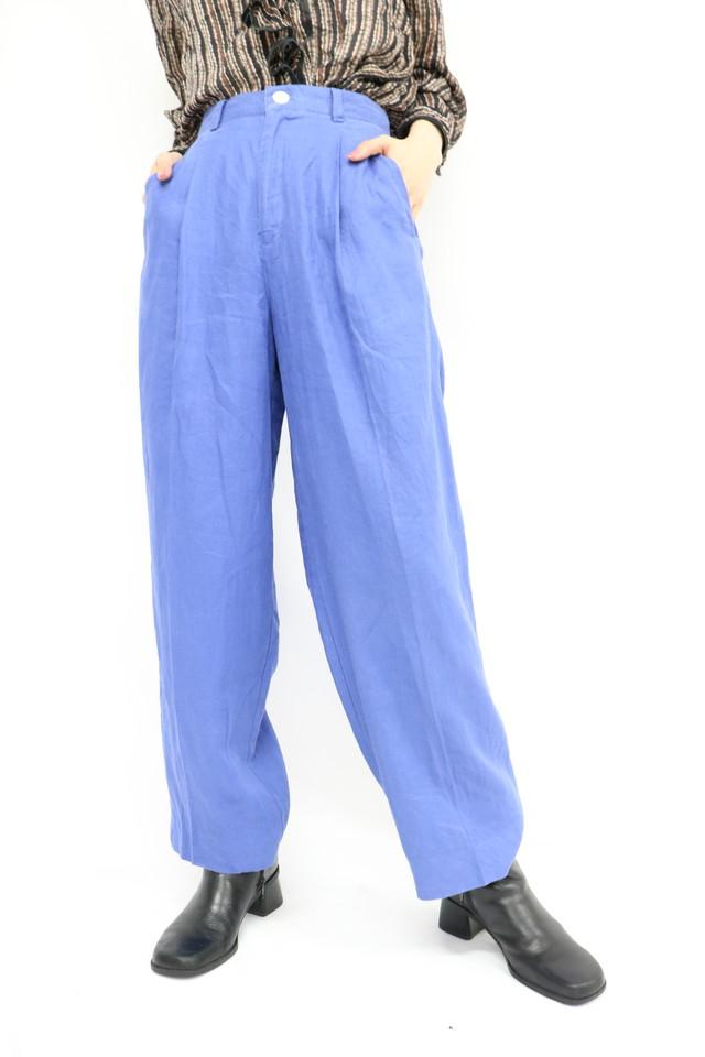linen tapered pants / 5SSPT06-05