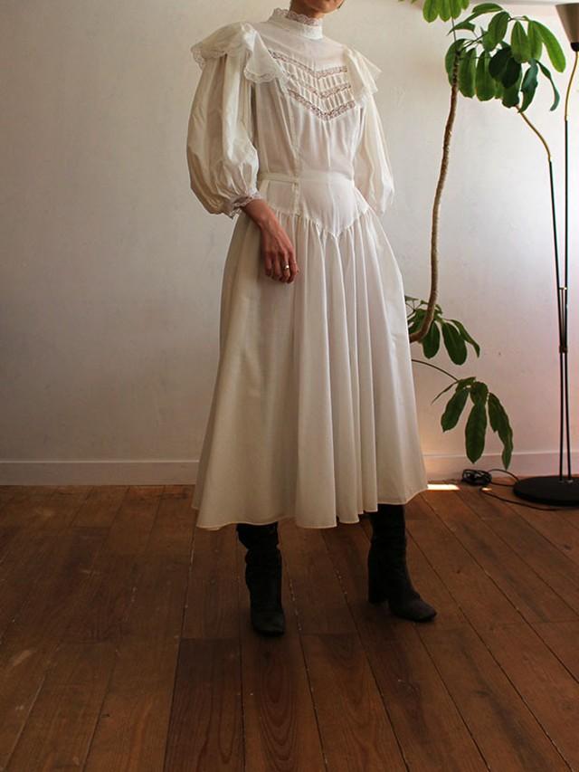 80's cotton dress
