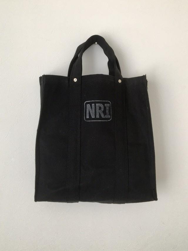 労働者のトートバッグ ブラック|Labour Tote Bag Black(PUEBCO)