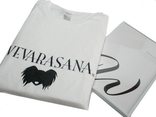 VEVARASANA®︎  オリジナルTシャツ WHITE