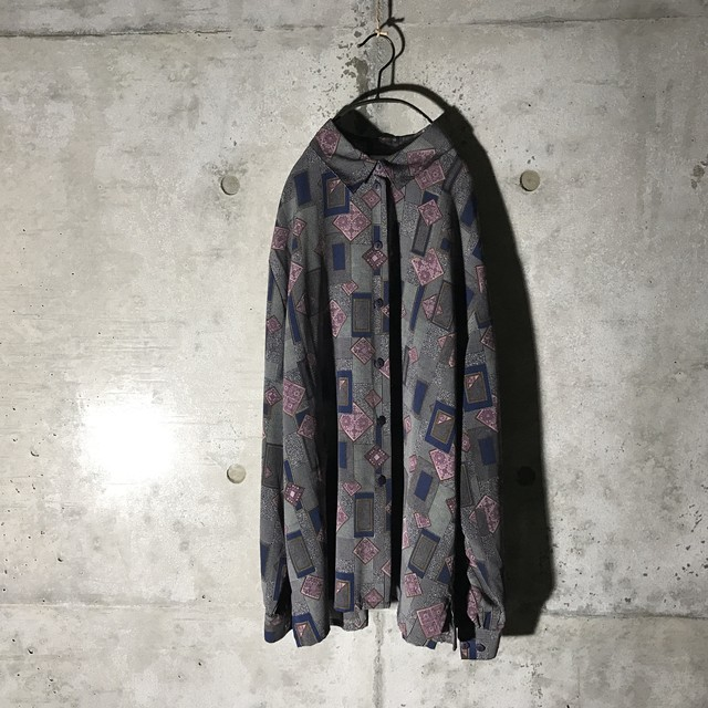 [used] mode tone mysterious designed shirt