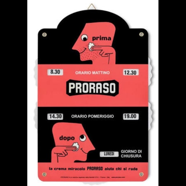 【ラス1になりました】PRORASO ポロラーソ オープン&クローズ サイン