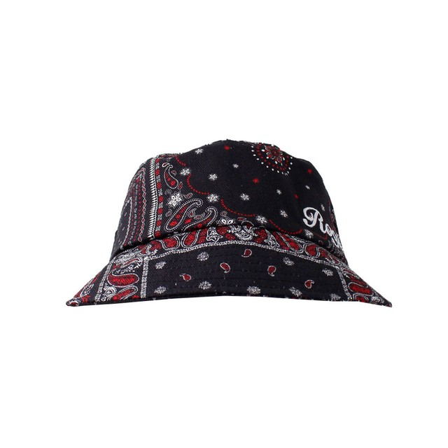 ROGIC Paisley Bucket Hat Red/Black