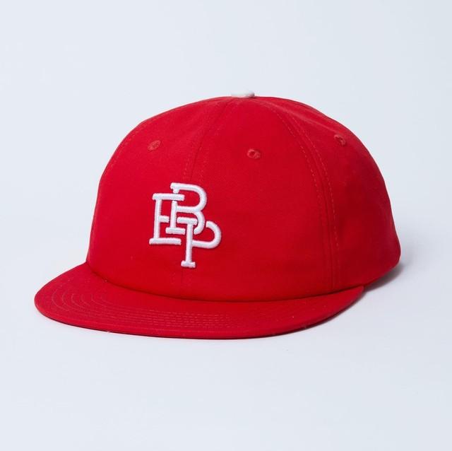 BLACK EYE PATCH / 6 PANEL BASEBALL CAP