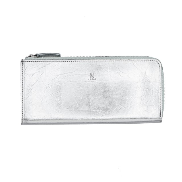 TIN BREATH Small purse Silver
