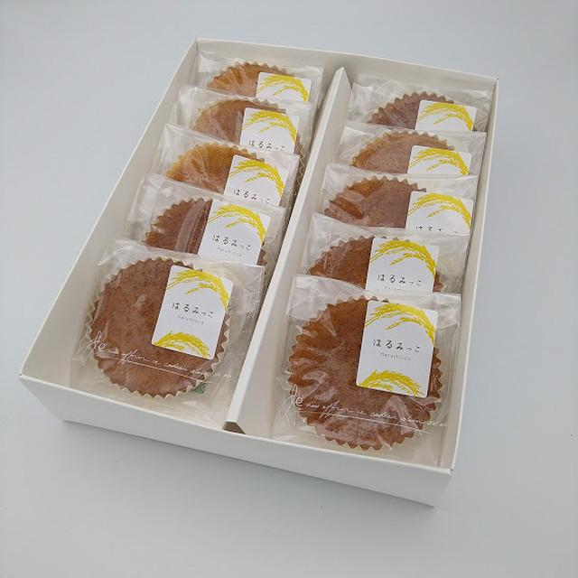 湘南育ち米「はるみ」のお菓子 「はるみっこ」10個入り