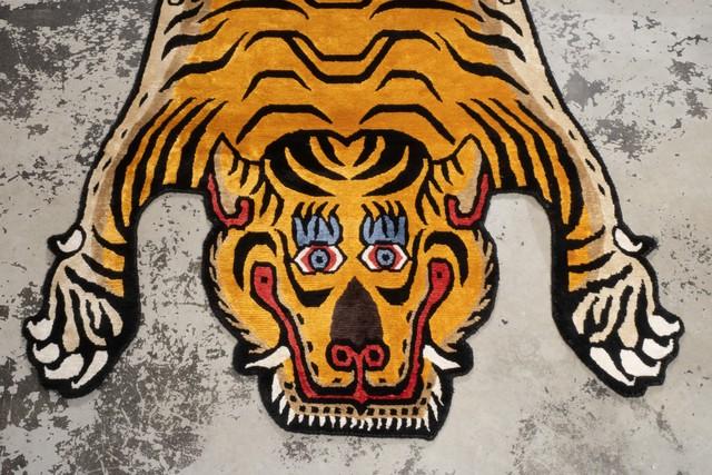 Tibetan Tiger Rug 《Lサイズ•シルク029》チベタンタイガーラグ
