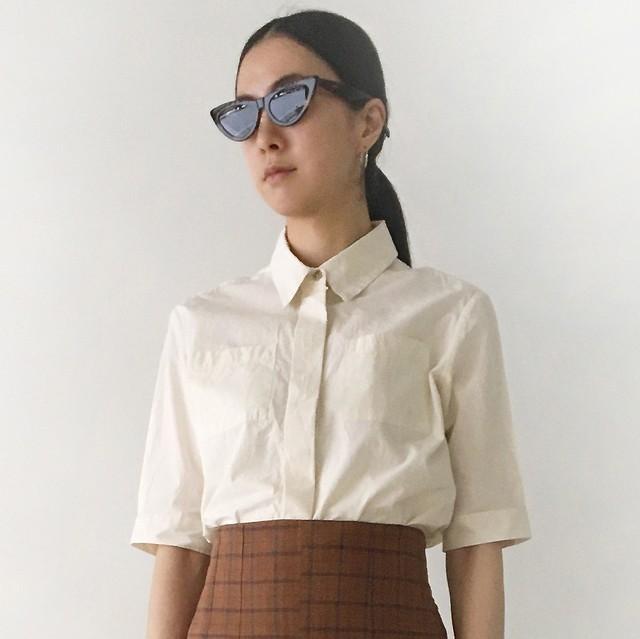 """Short sleeve shirts """"natural"""" organic cotton"""