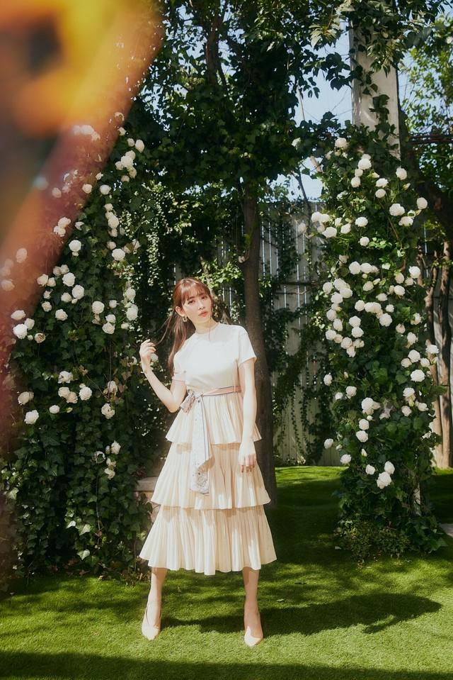 Garden Party Ruffled Midi Dress