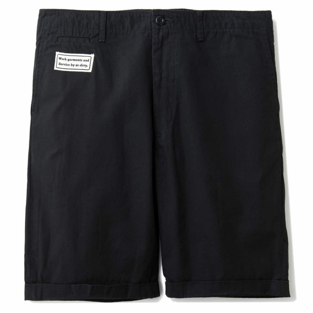 AT-DIRTY(アットダーティー)/GASS SHORTS (BLACK)