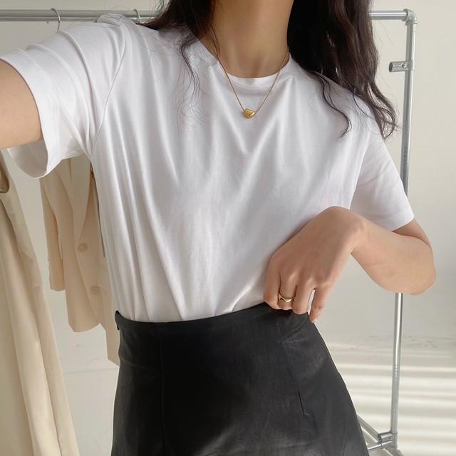 「即納」ベーシックTシャツQ2042
