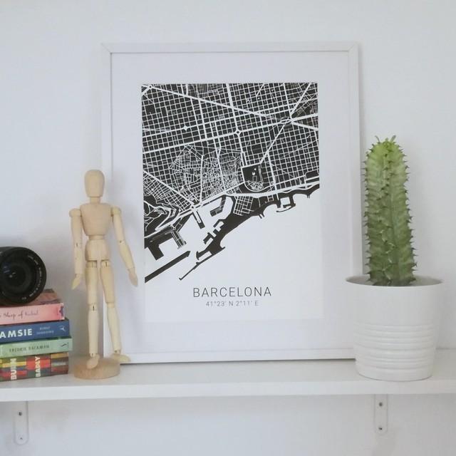 バルセロナ ポスター(30×40㎝)