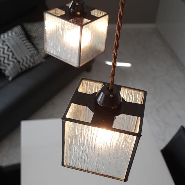 ペンダントライト ランプ 照明 Glenn(グレン) ステンドグラス LED対応