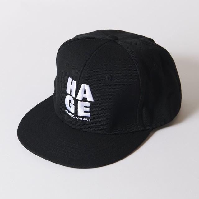 キャップ 「HAGE」 cap ベースボールキャップ 帽子 おっさん CrazyCompany