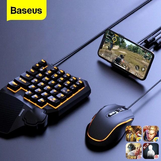 スマホ対応 ゲーミングマウス&キーボード