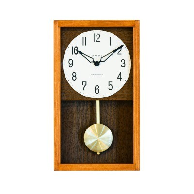 HINOKI PENDULUM CLOCK【CAFE BROWN】