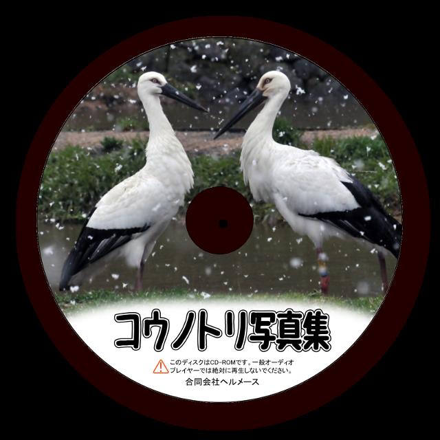 【送料無料】コウノトリ写真集CD