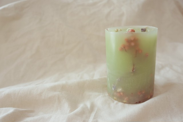 Botanical candle    no.001