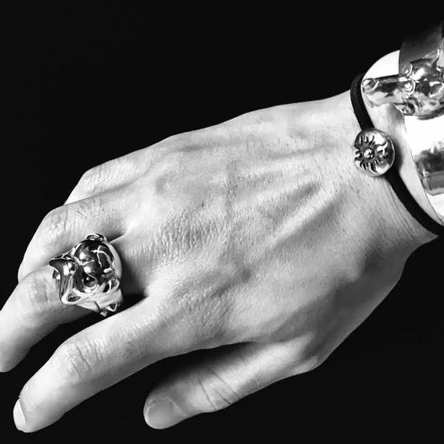 【送料無料】Master Bulldog Ring Producted by NOBILIS【品番 17S2001】
