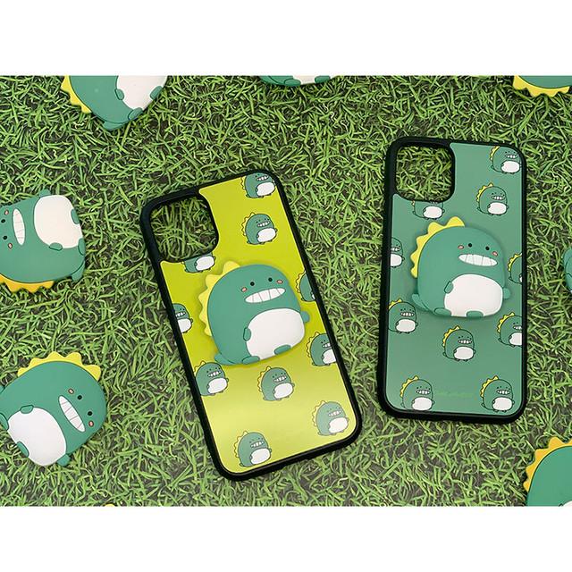 【限定価格】[try cozy]2点セット ハードケース スリム スマホリング カワイイ 韓国 韓流 お洒落 シンプル iphone11 iphone11pro iphone11promax 恐竜  ダイナソー カップル セール