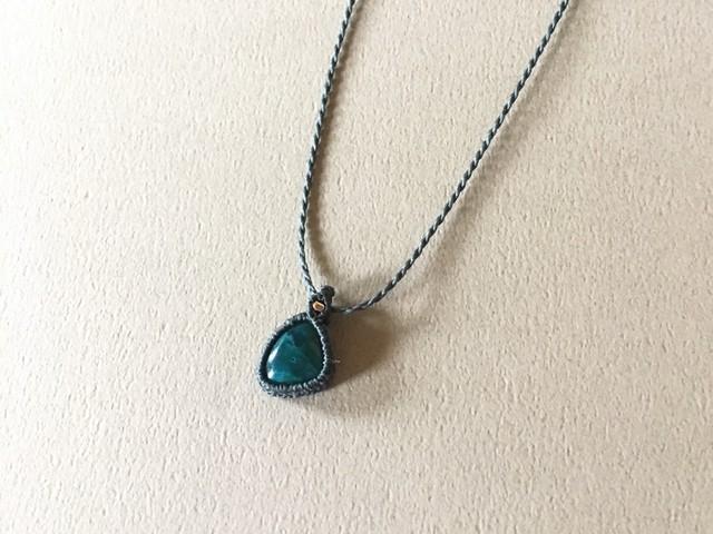 カバンサイト macramé necklace