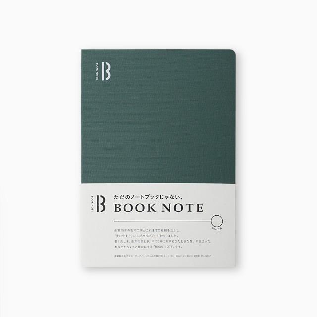 「BOOK NOTE」 /B6サイズ/フォレストグリーン