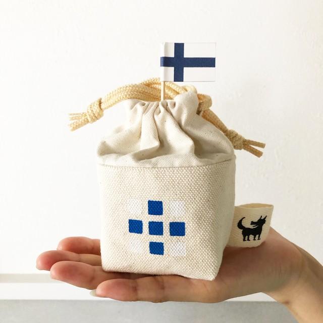 ウルフ舎の3×3×3キューブケース/色:北欧シリーズ/フィンランド