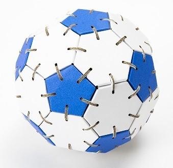 サッカーくみくみボール 青