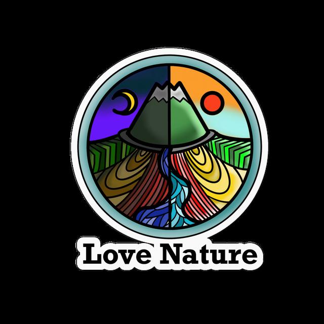 Love  Nature ステッカー