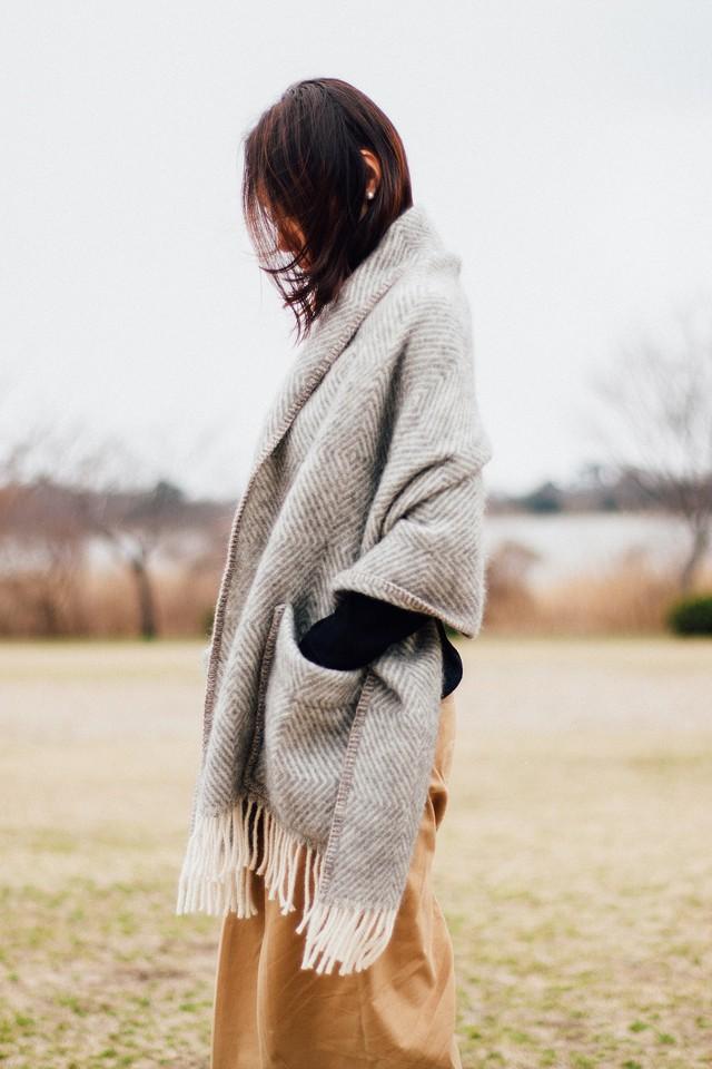【LAPUAN KANKURIT(ラプアンカンクリ)】 MARIA ポケットショール【送料無料】