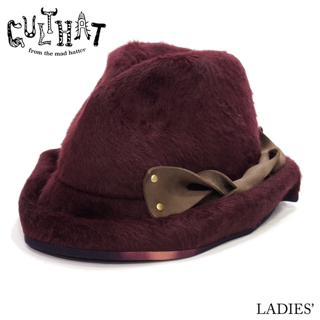 CULTHAT / Leather Handle Rabbitfur Hat