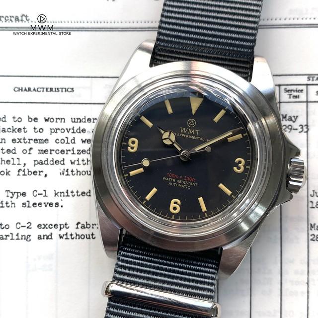 WMT WATCH  ROYAL MARINE1950 MKⅡ 369 (NH35) WMT196-04