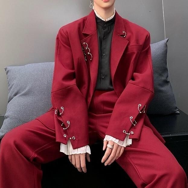 開店セール【セットアップ】フープ装飾スーツ