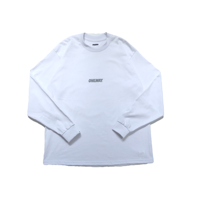"""ONEWAY™""  Reflector LOGO L/S TEE"