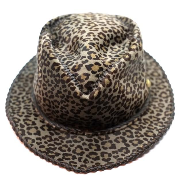 Premium-Bal-Hat-Neo レオパード(真鍮ロゴコンチョ付)・予約受付販売