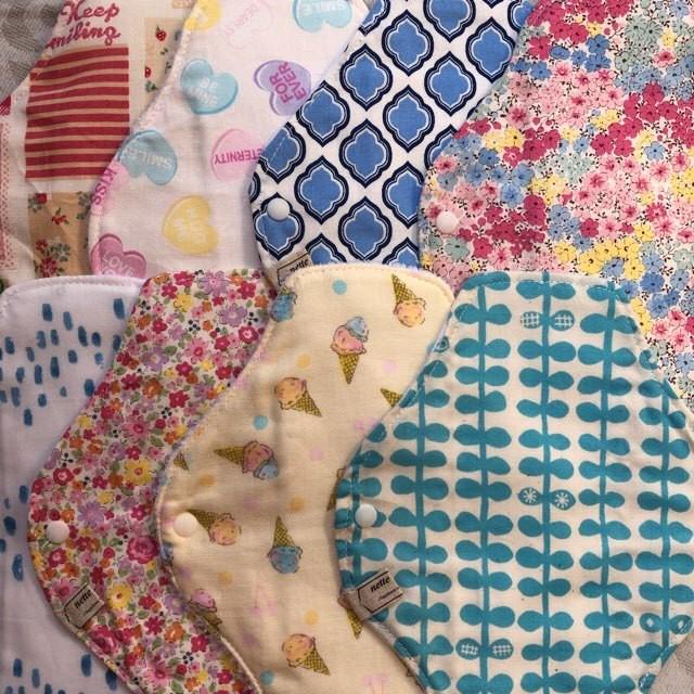 8種類から選べる!布ナプキン3枚セット