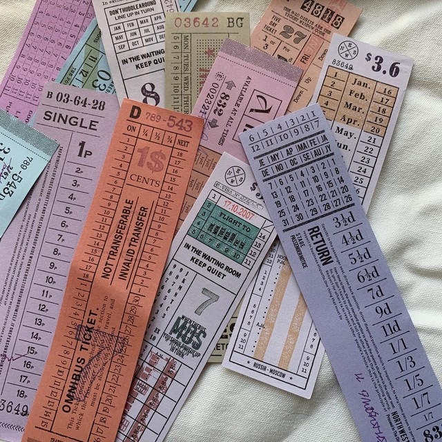 ticket-4 チケット 36枚入りセット
