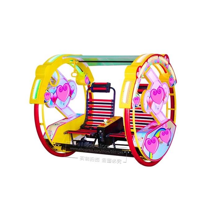 大人も子供も乗れる!回転式ランドカー!