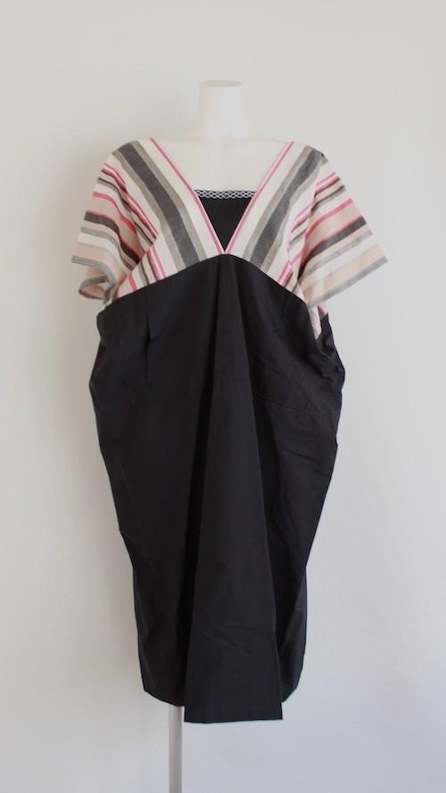 HISUI Kimono Mix Dress