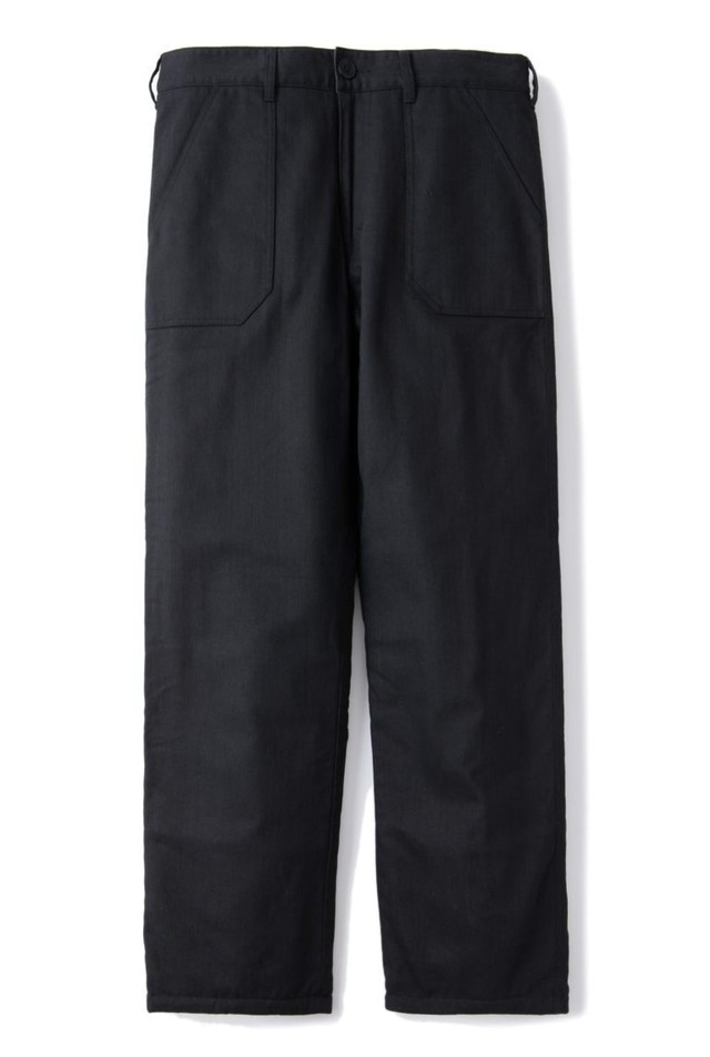 AT-DIRTY(アットダーティー) / QUILTING PANTS (BLACK)