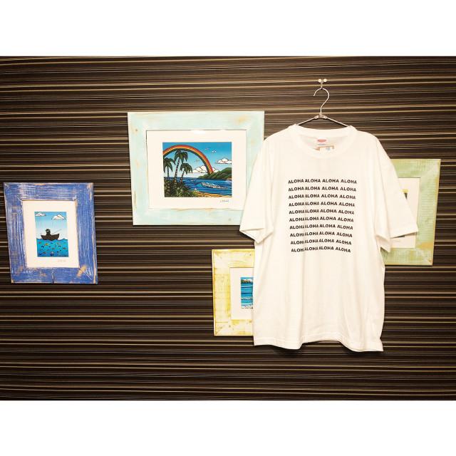 『aloha square』T-Shirt