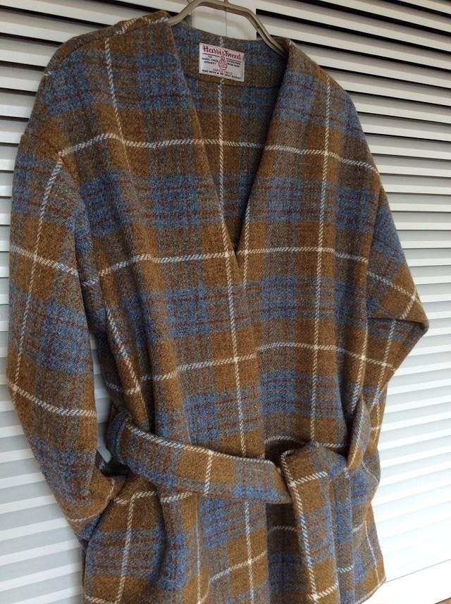 世界に一つだけのジャケット!~ハリスツイードのローブカーディガン