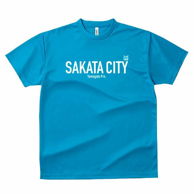 山形県酒田市Tシャツ_034ターコイズ